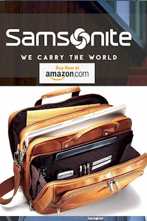 Samsonite Best Equipment for Travelers