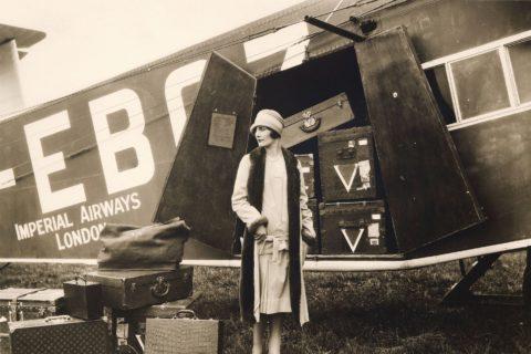 Louis Vuitton imperial Airways Vintage Trunks