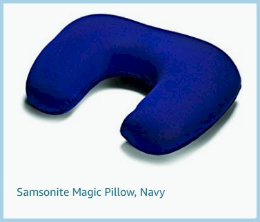 Luggage Samsonite Pillow