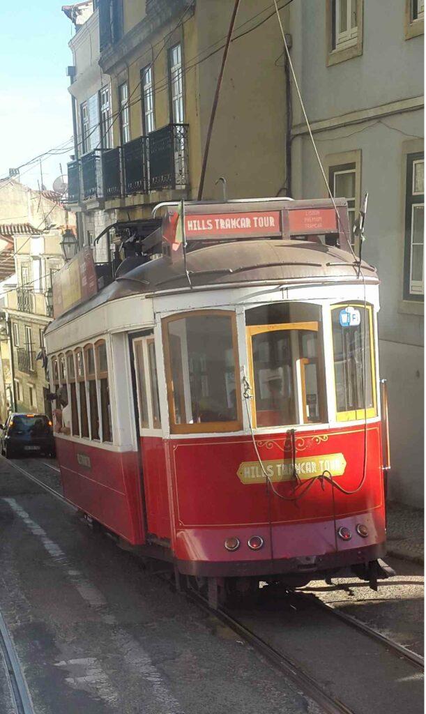 Lisbon Hills TramCar Tour - Tram Pics