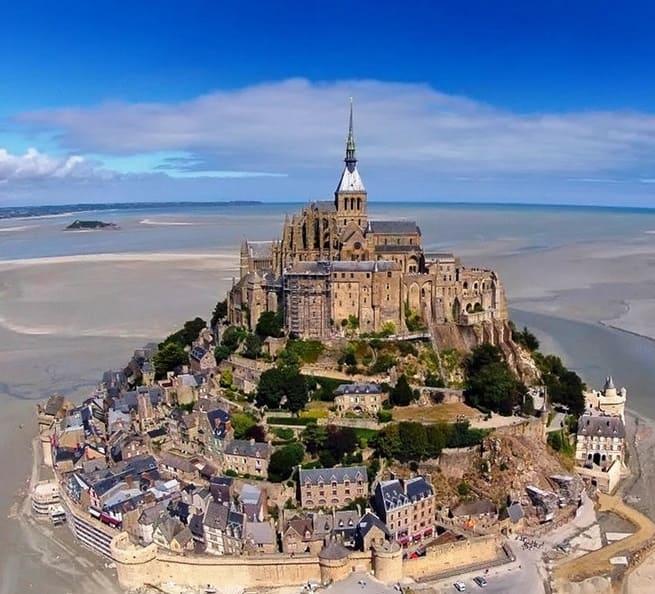 Mont Saint Michel Cathedral - France