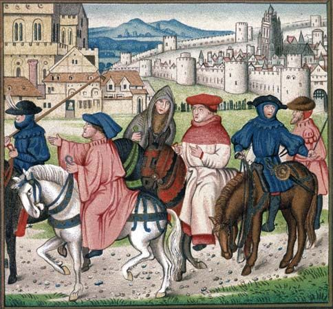 How did you travel during the Middle Ages? By Land
