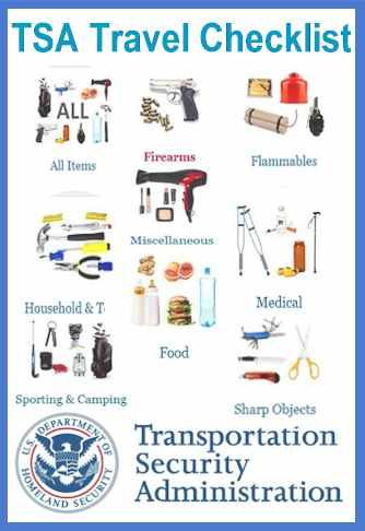 TSA - US Citizens Travel