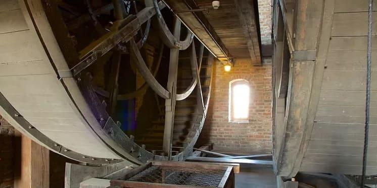 Gdansk First Medieval TreadWheel Crane