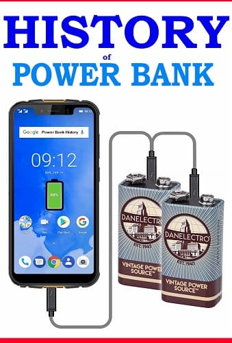 History of Power Banks and Lithium batteries When was the first call of a mobile phone? Martin Cooper, manager of Motorola, made a call to, Joel Engel, of Bell Labs of AT&TE