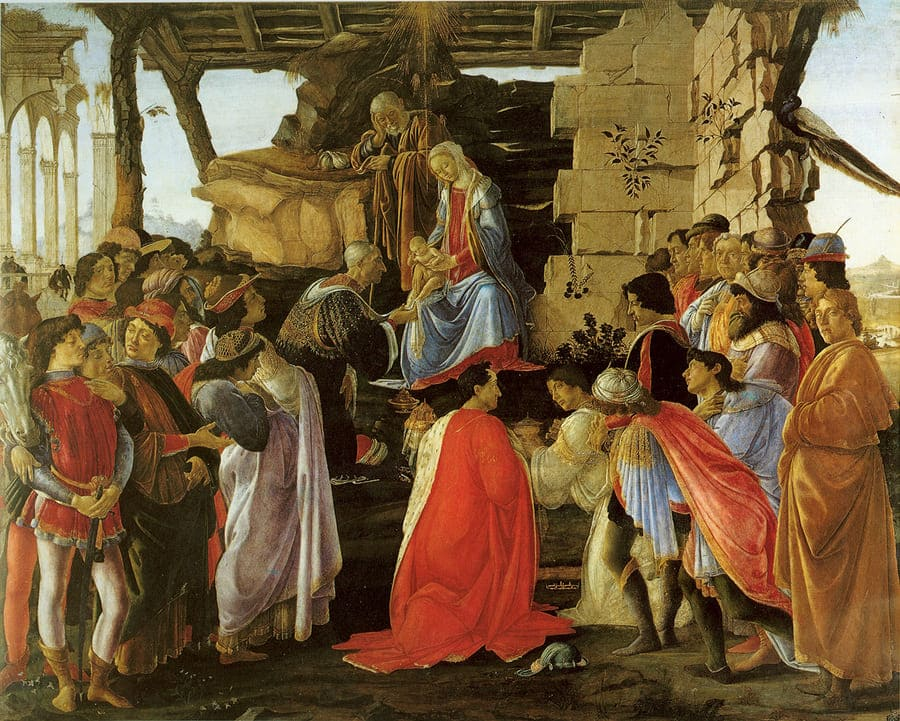 Adoration of the Magi (Botticelli, 1475) - The Grand Tour - #Florence First Major Destination of the Grand #Tour #art #paint