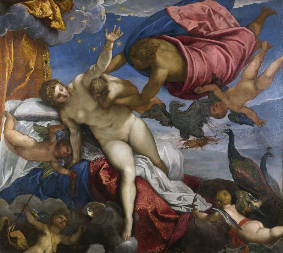 The Origin of the Milky Way - Jacopo Tintoretto - 1575
