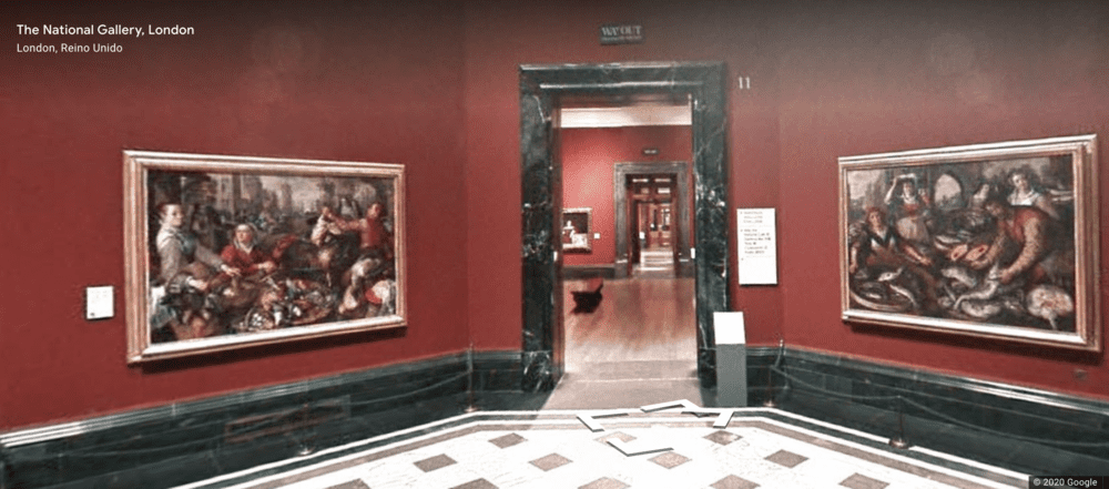 Nude Paintings on National Gallery London- Virtual Tour - Google Art