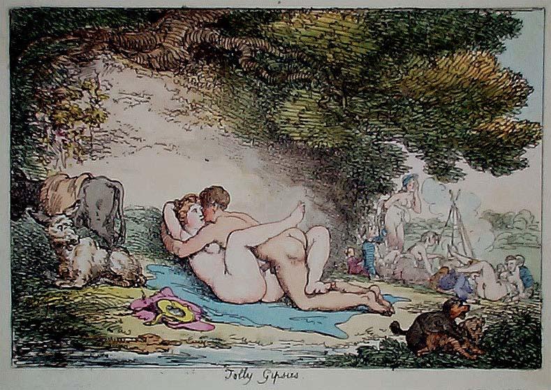 Thomas Rowlandson Erotic Draws on MET on Line