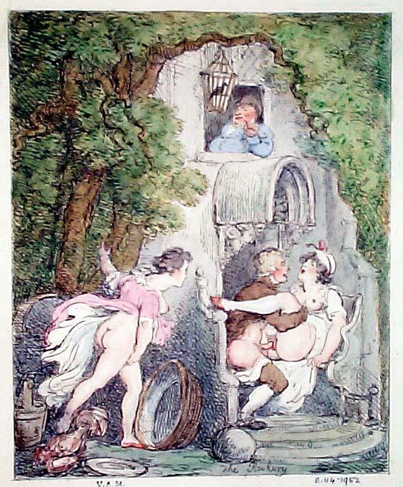 Thomas Rowlandson Erotic Illustrations on MET on Line