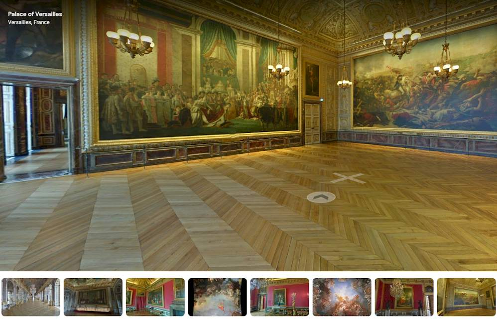 Palace of Versailles Virtual Tour - Napoleon Paints