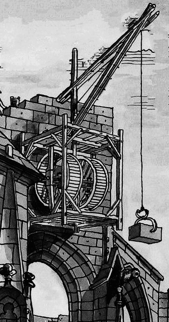 Crane and Hoist in Ancient Rome