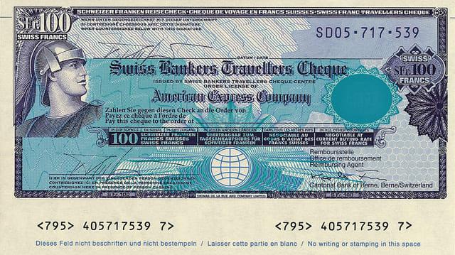 AMEX History of Tourism Traveler's Checks