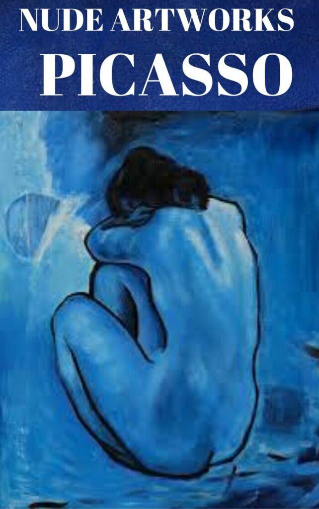 Pablo Picasso Nude Artwork , Blue Nude (1902)