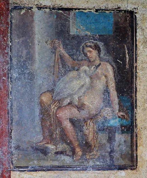Pompeii Archaeological Park - Leda & Swan
