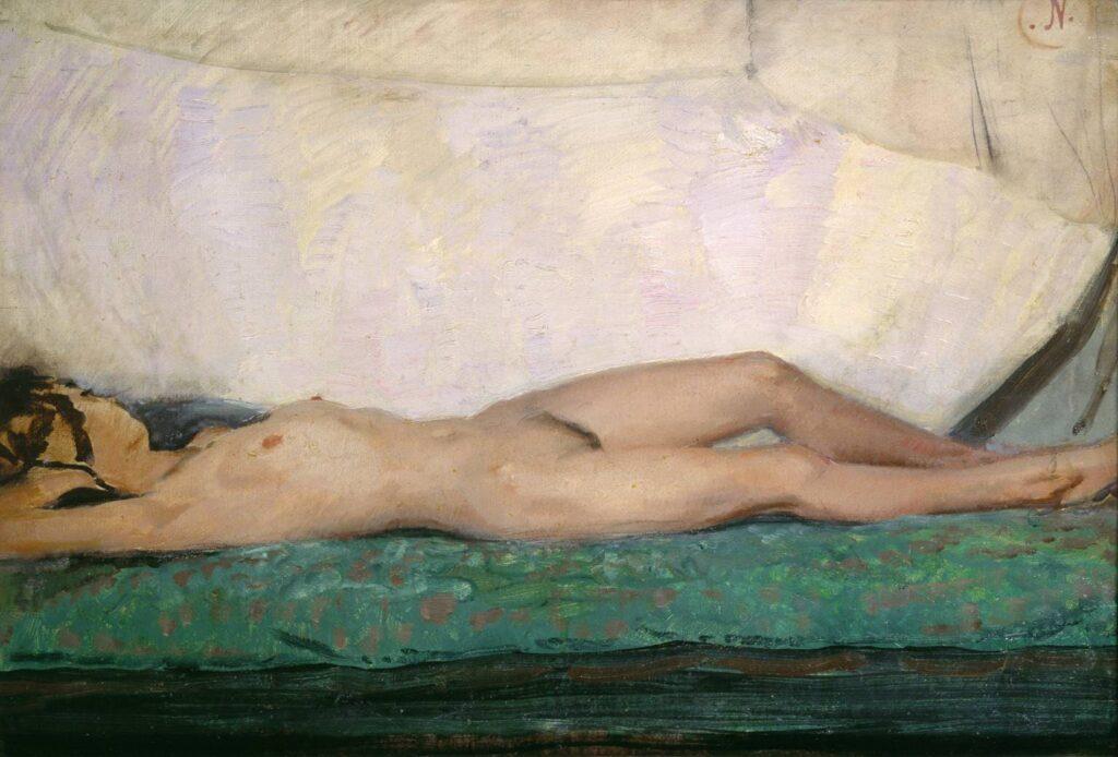 Sir William Nicholson Nude 1921 = Nude Artworks on Tate Museum - London - UK