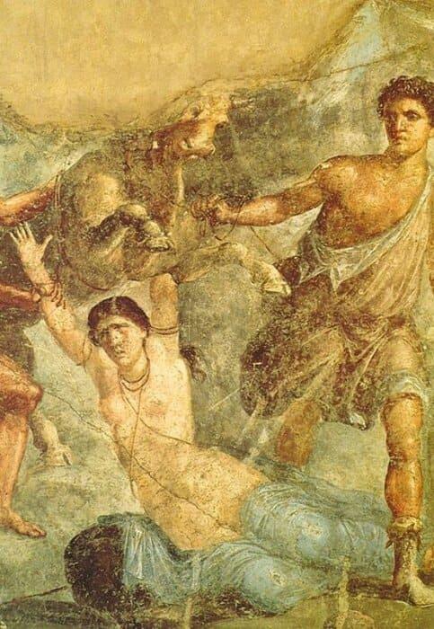 History of Tourism: Pompeii Erotic Mosaic