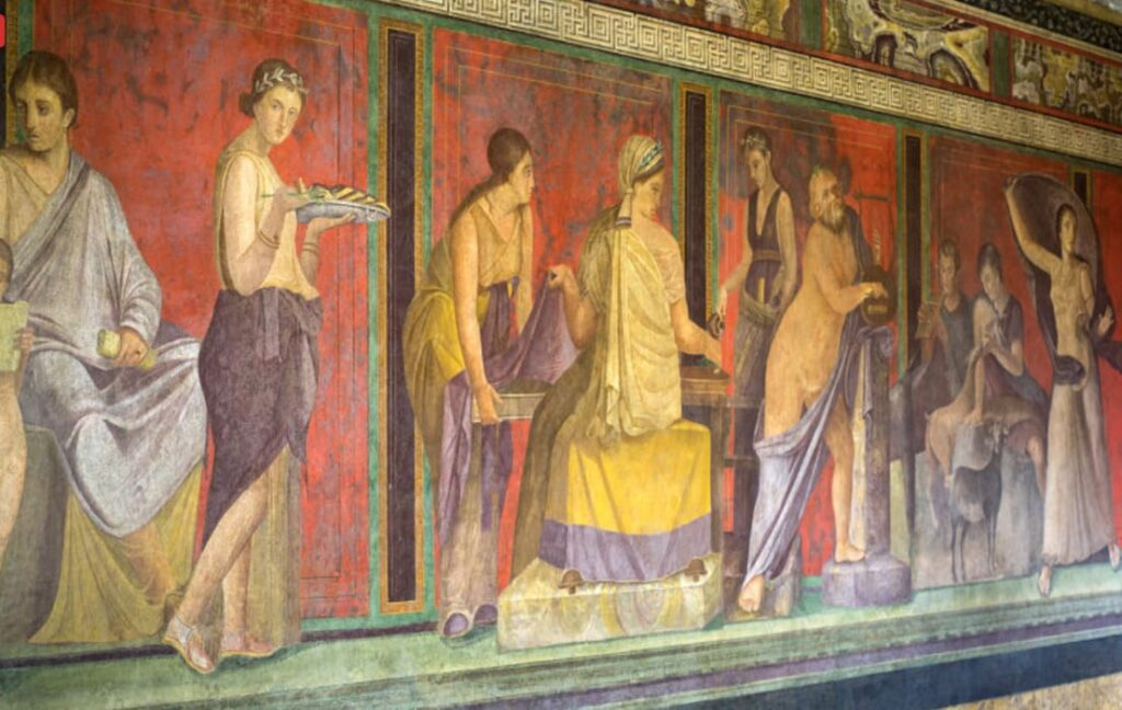 History of Tourism in Ancient Pompeii Erotic