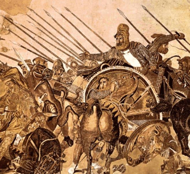 History of Tourism: Pompeii Alexander & Dario Combat