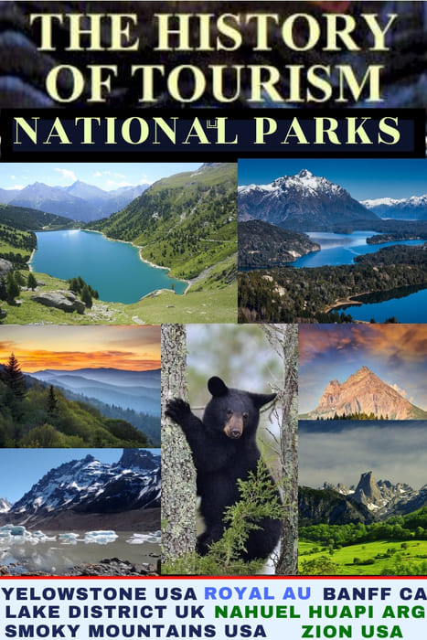 History of Tourism - National Park USA