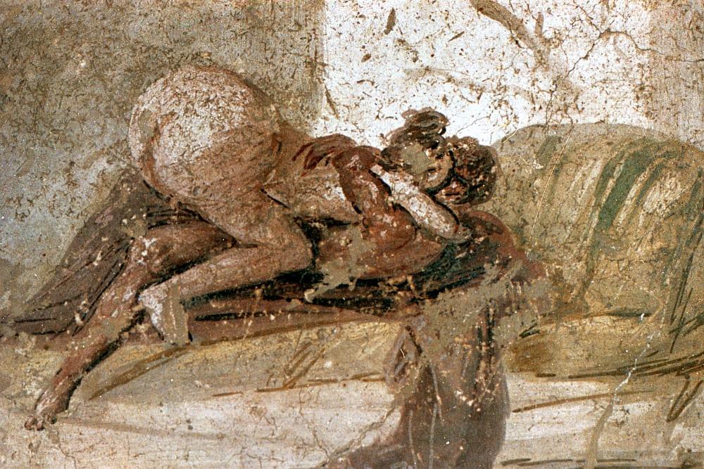 Pompeii Brothel Sex Paint