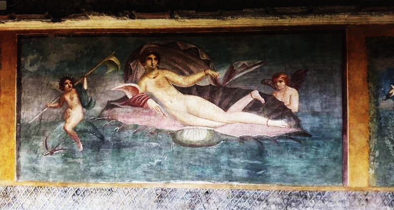 Aphrodite Anadyomene - Vettii House Pompeii