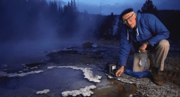Thomas Brock :Yellowstone - COVID-19 Test