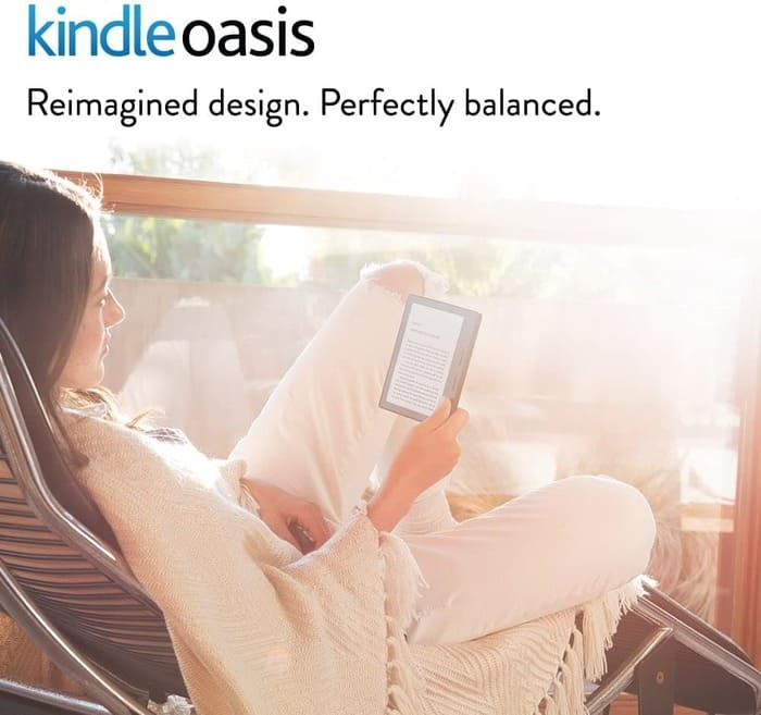 Kindle Oasis  IPX8 Waterproof - Ereaders 2020-2021