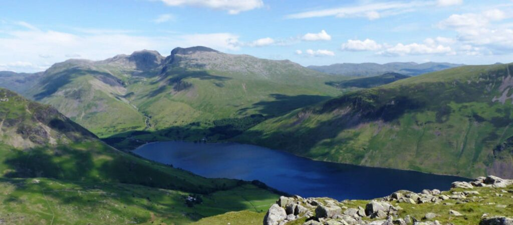 Scafell Pike District Lake National Park UK