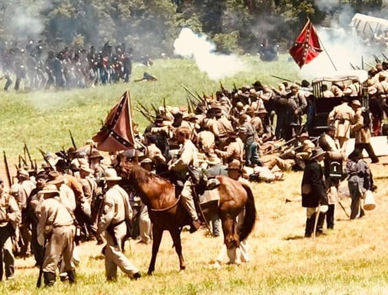 Gettysburg National Military Park Reenactment