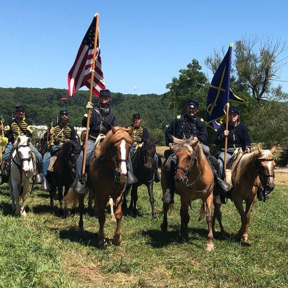 Gettysburg National Military Park Reenactment- Following Ewell's further failure to take Culp's Hill, one of the largest and most memorable disasters in American military history will take place: The Pickett Charge. (View National Park Service )