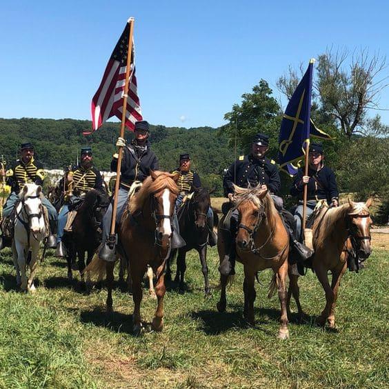 Gettysburg National Military Park Reenactment