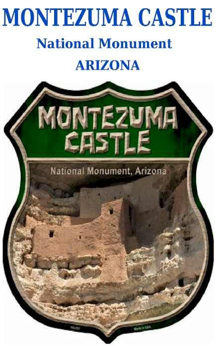 Montezuma Castle - National Monument - Arizona