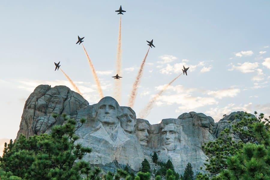 National Garden of American Heroes - Mount Rushmore