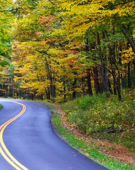 Fall Colors on Blue Ridge Parkway