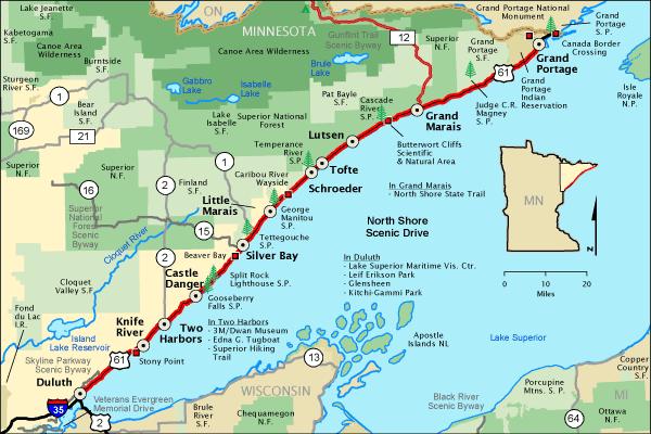 North Shore - America's Byways - US Scenic Roads 2020-2021