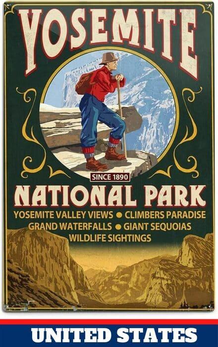 Yosemite - US National Parks most Visited