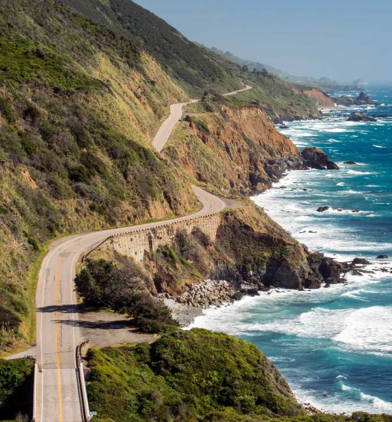 Pacific Coast Highway - America's Byways - US Scenic Roads 2020-2021