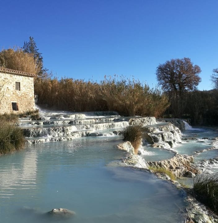 Saturnia Thermal Baths in Italy