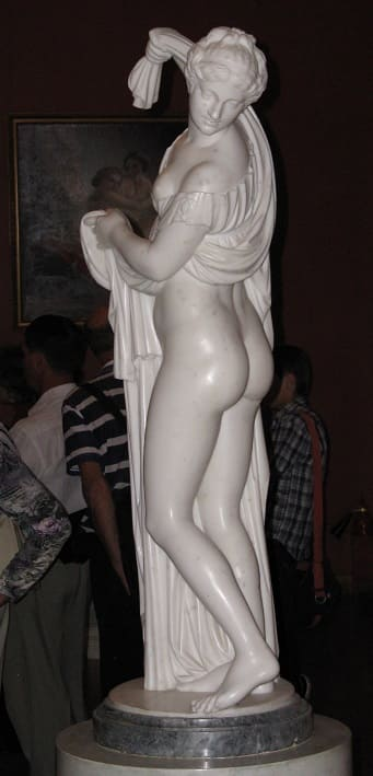 Aphrodite Callipyge Yusupov Palace - Saint Petersburg - Russia. -Venus Callipyge: The Roman Statue of the Beautiful Buttocks Goddess of the Beautiful Buttocks It is used to designate the famous statue of Aphrodite known as the Venus Callipyge, currently in the Archaeological Archeological Museum of Naples