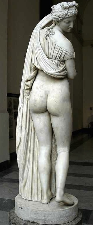 Goddess of the Beautiful Buttocks. -Venus Callipyge: The Roman Statue of the Beautiful Buttocks  Goddess of the Beautiful Buttocks  It is used to designate the famous statue of Aphrodite known as the Venus Callipyge, currently in the Archaeological Archeological Museum of Naples