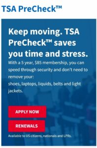 What is TSA Precheck? Amazon