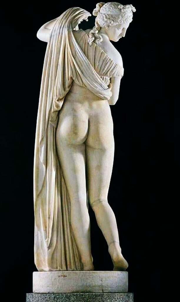 Goddess of the Beautiful Buttocks -Venus Callipyge: The Roman Statue of the Beautiful Buttocks Goddess of the Beautiful Buttocks It is used to designate the famous statue of Aphrodite known as the Venus Callipyge, currently in the Archaeological Archeological Museum of Naples
