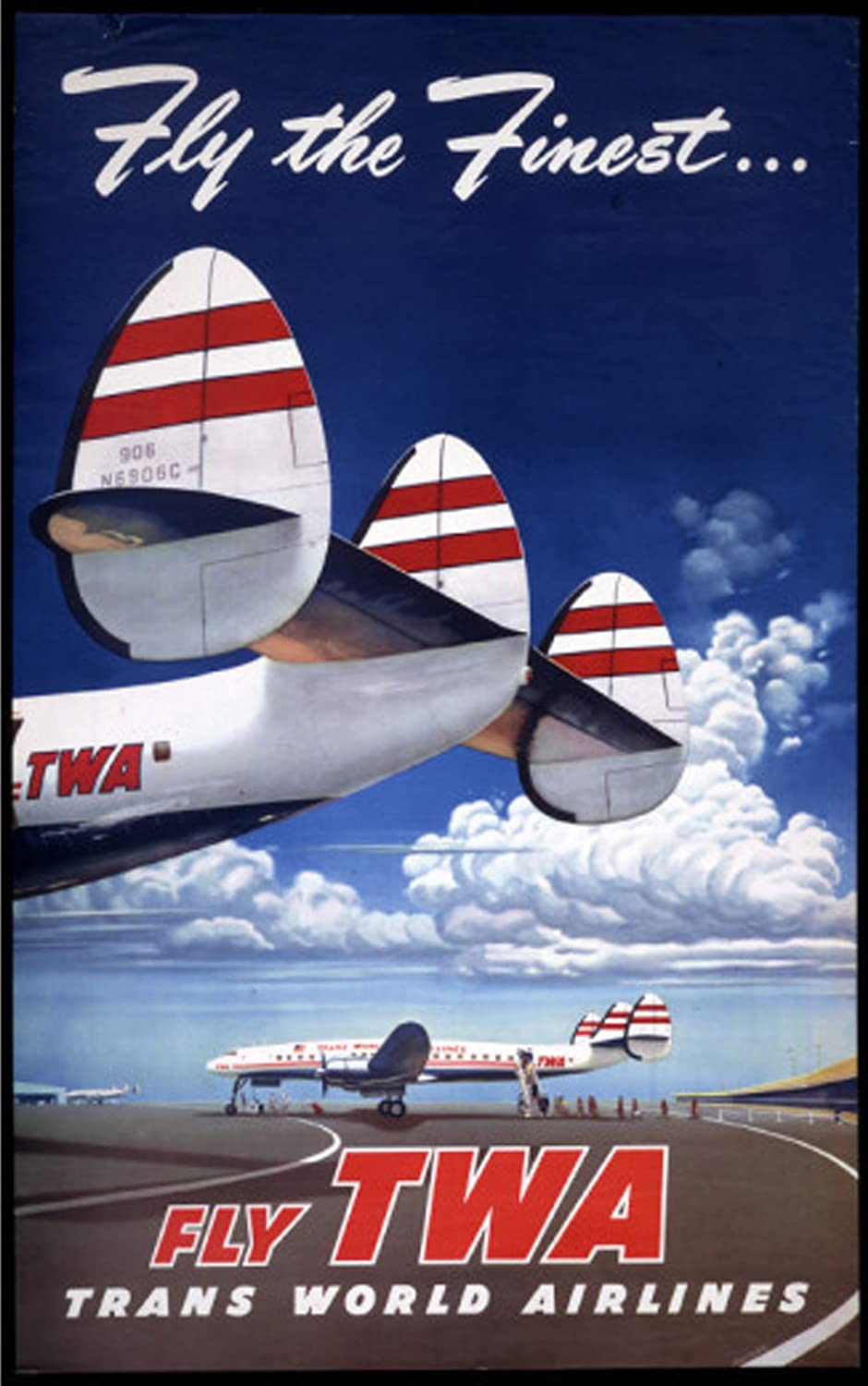 US History of Tourism, first coast to coast flight: Transcontinental Air Transport (TAT) was an airline founded in 1928 by Clement Melville Keys that merged in 1930 with Western Air Express to form what became TWA.