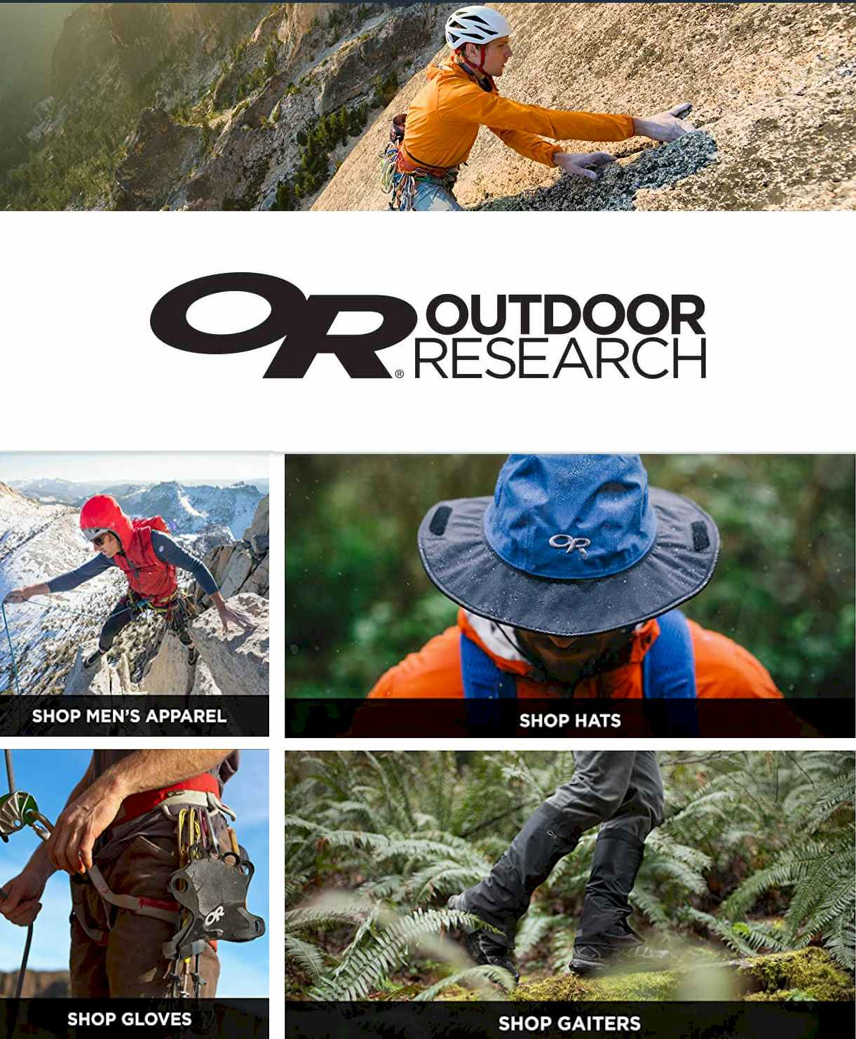Outdoor Research Store on #Amazon - #hiking #outdoor #Camping #gifts #xmas