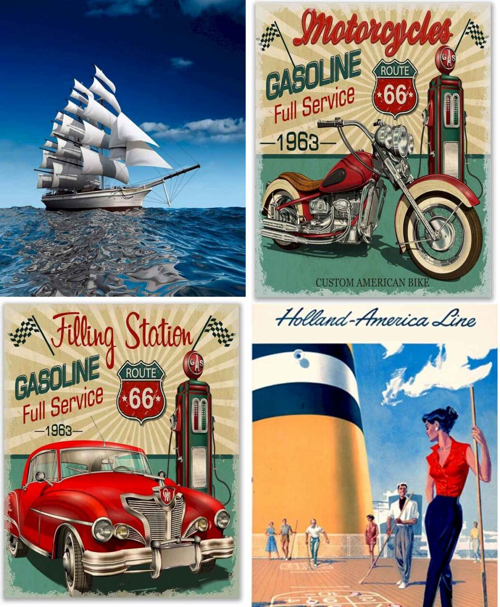 Vintage poster Prints - Best Products 2021 on Amazon