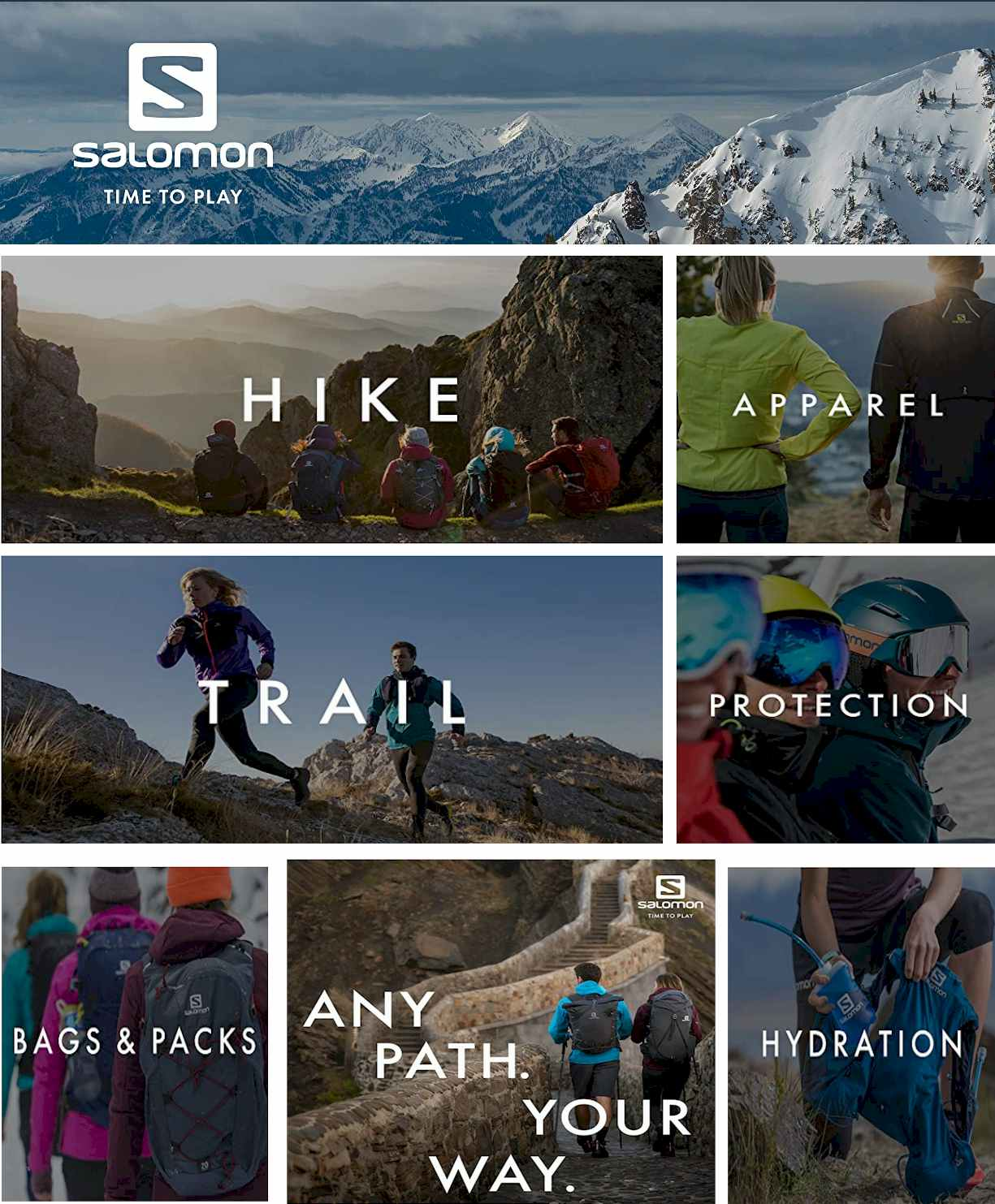 Salomon Store -Hiking Gear