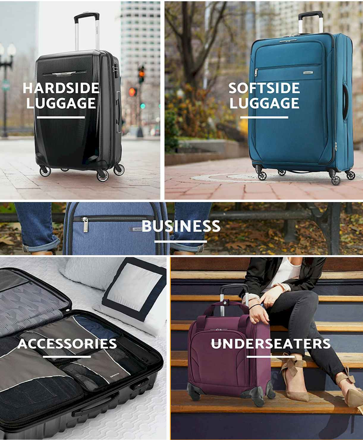 SAMSONITE Store  -Luggage & Suitcases #Travel Gear - Travel gadgets