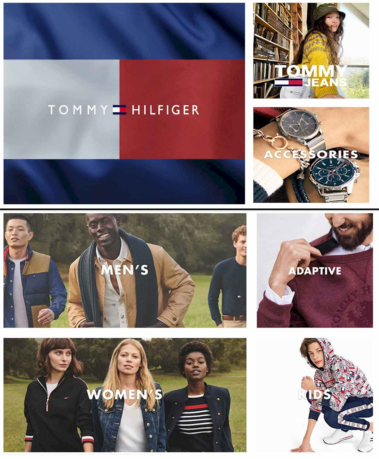 Tommy Hilfiger Store on Amazon