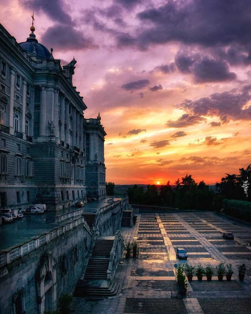 Palacio Real en Madrid